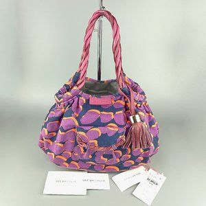 Authentic See By Chloe Canvas Hobo Bag